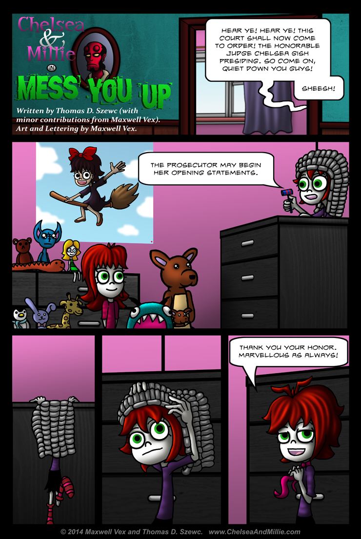 Mess You Up: Page 01