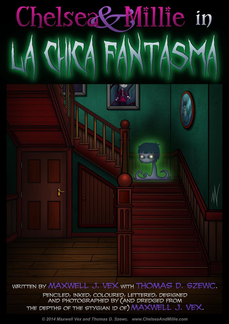 La Chica Fantasma: Page 01