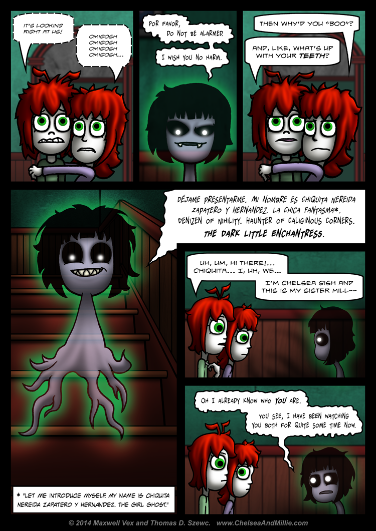 La Chica Fantasma: Page 06