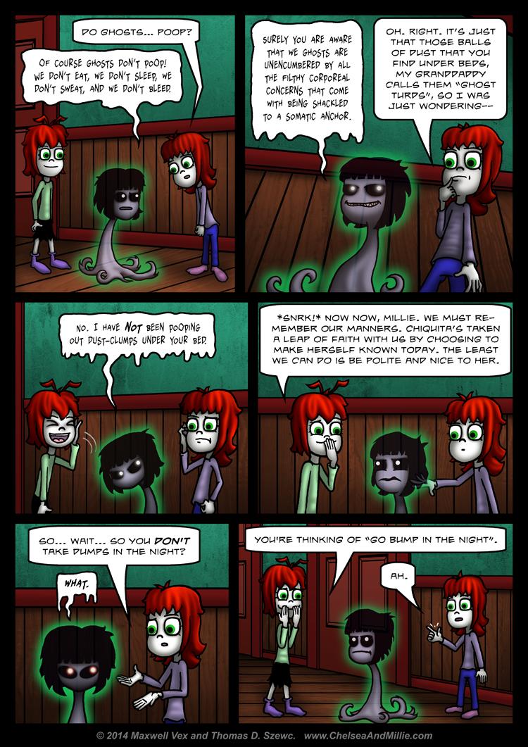 La Chica Fantasma: Page 08