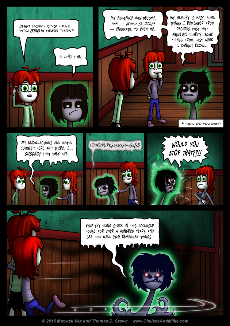 La Chica Fantasma: Page 09