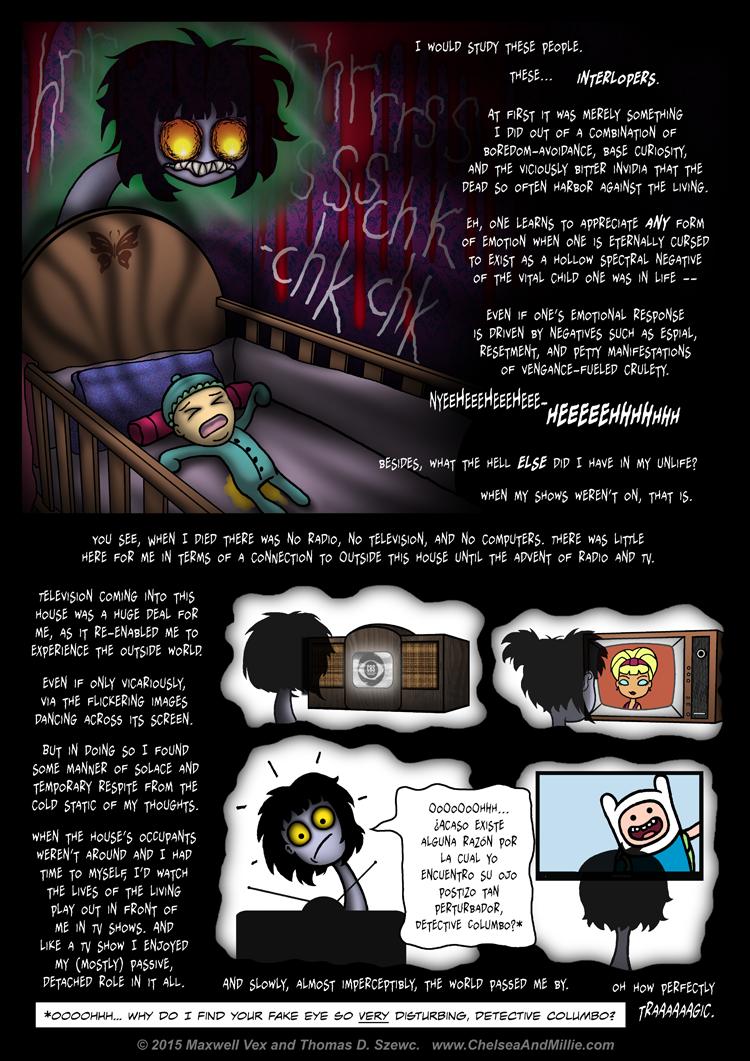 La Chica Fantasma: Page 12