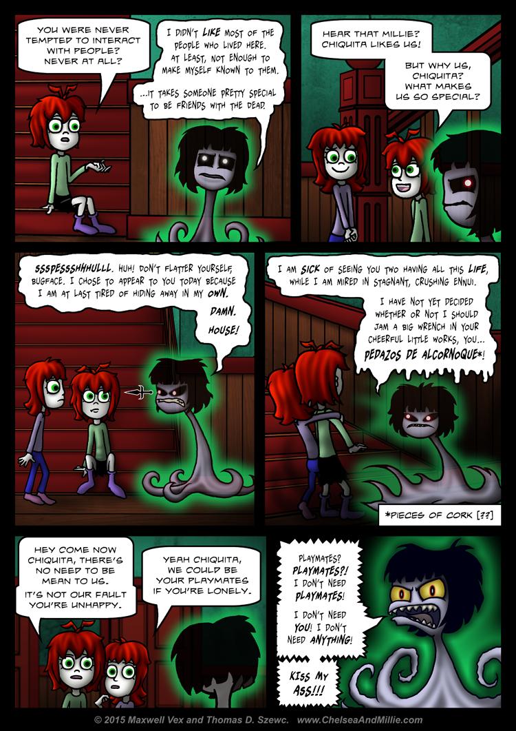 La Chica Fantasma: Page 13