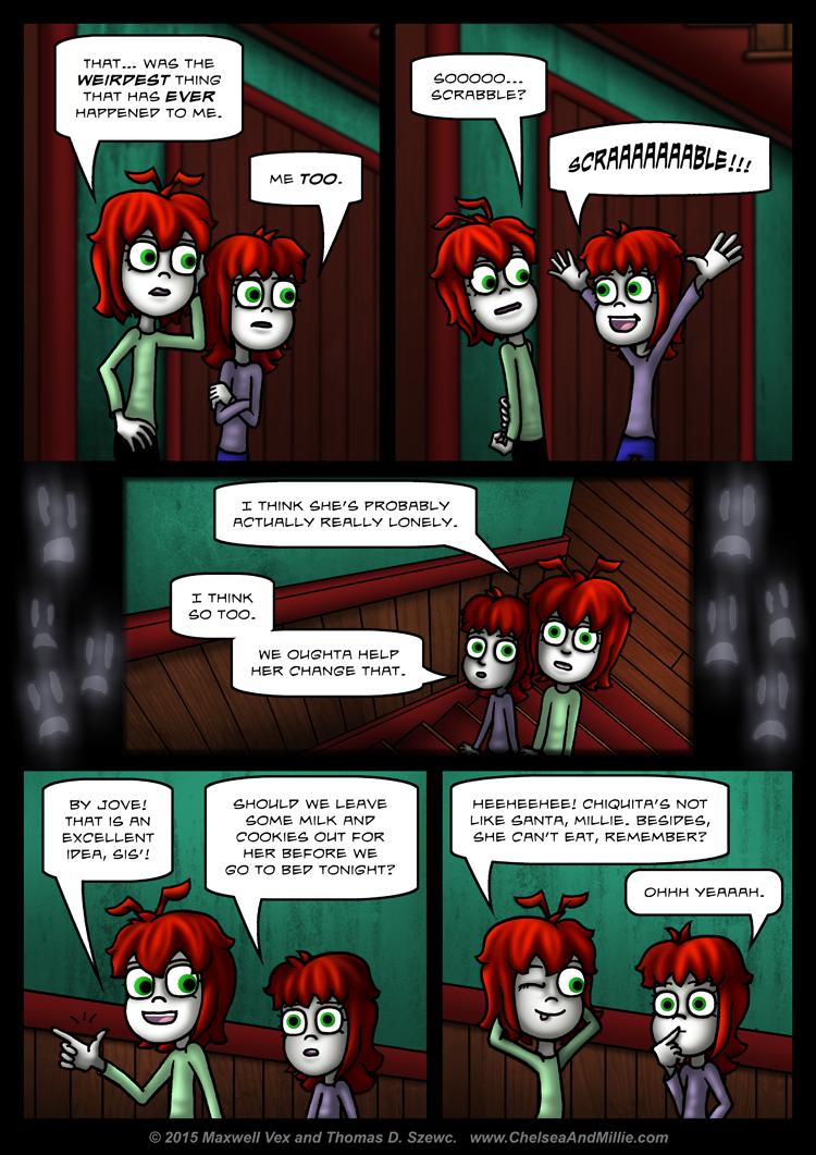 La Chica Fantasma: Page 15